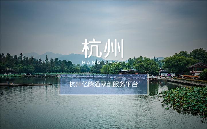 杭州亿脉通双创服务平台